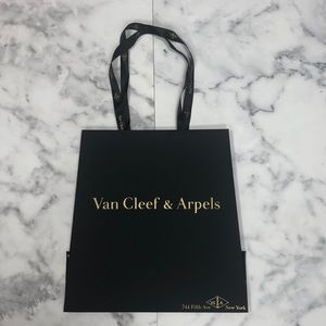 Authentic Van Cleef & Arpels Shopping Gift Bag